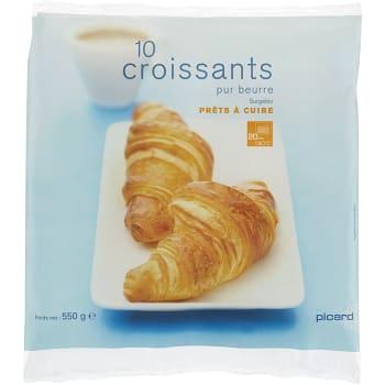 Croissant 10-p 550g Picard