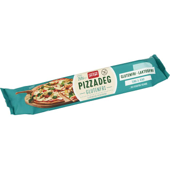 Glutenfri pizzadeg 260g POP! Bakery