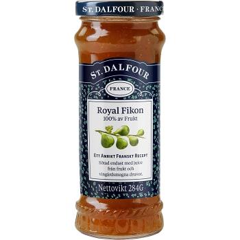 Royal Fikon utan tillsatt socker 284g St.Dalfour