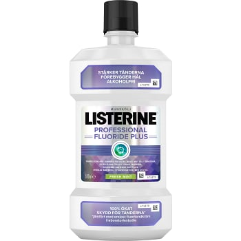 Munskölj Fluoride Plus 500ml Listerin
