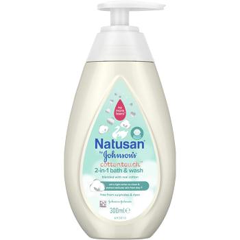 2-in-1 Bath & Wash 300ml Natusan