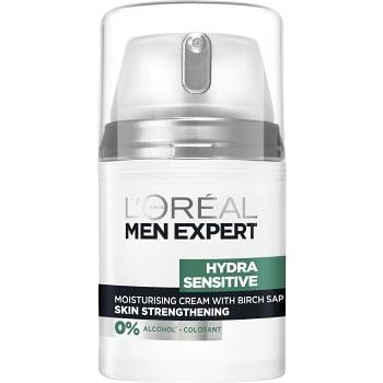 Ansiktskräm Återfuktande Hydra Sensitive för känslig hud 50ml Men Expert
