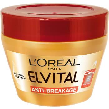 Hårinpackning Elvital Anti-Breakage för skadat hår 300ml L´oreal