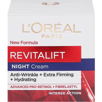 Ansiktskräm Natt Revitalift antirynk 50ml L'Oreal