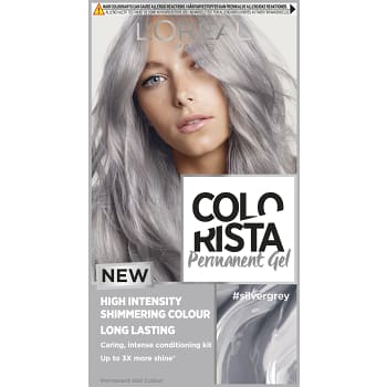 Hårfärg Gel Silver Grey 1-p Colorista