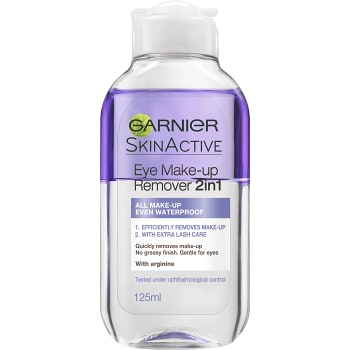 Eye make-up remover 2in1 Sminkborttagning 125ml Garnier