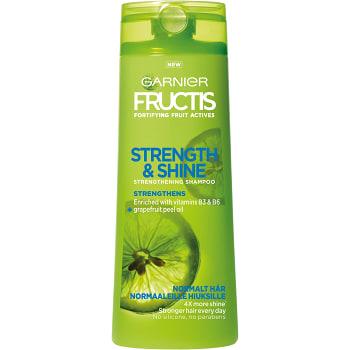 Schampo Strength & shine Normalt hår 250ml Fructis