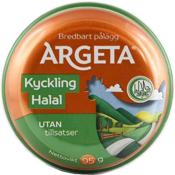 Kycklingpastej Halal 95g Argeta