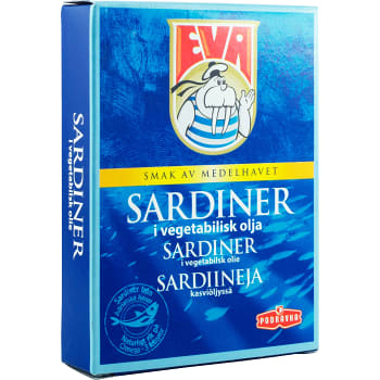 Sardiner i vegetabilisk olja 115g Podravka