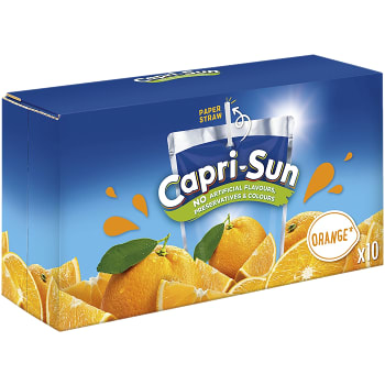 Fruktdryck Orange 20cl 10-p Capri-Sun