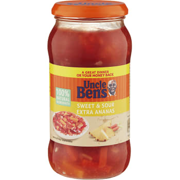 Sweet & sour Extra ananas 450g Uncle Bens