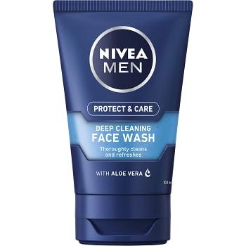 Ansiktstvätt Protect & Care 100ml Nivea Men
