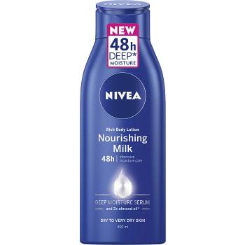 Nourishing Body lotion med mandel olja 400ml Nivea Body