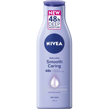 Body lotion smooth caring  dry skin 250ml Nivea