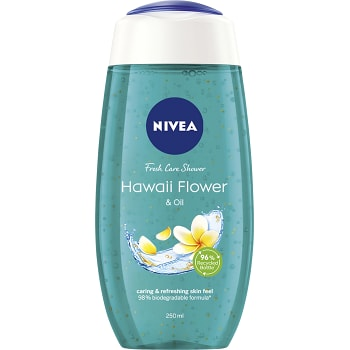 Duschtvål Hawaii flower & oil 250ml Nivea
