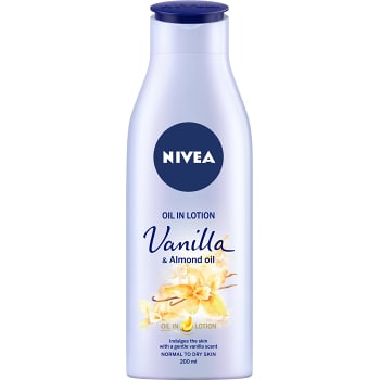 Kroppslotion Vanilj & mandel 200ml Nivea