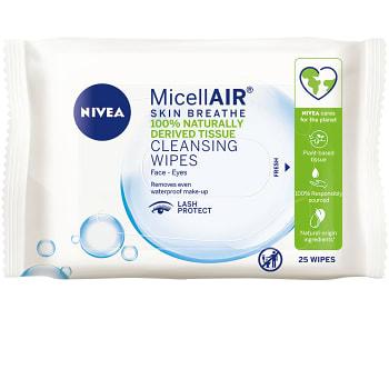 Ansiktsservetter Micellar Cleansing 25-p Nivea