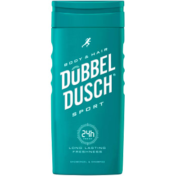 Duschkräm Kropp & Hår Sport 250ml Dubbeldusch