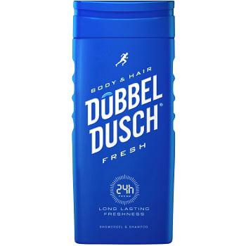 Duschkräm Kropp & Hår Fresh 250ml Dubbeldusch