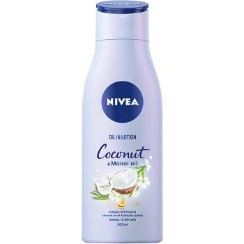 Kroppslotion Oil in lotion Coconut 200ml Nivea