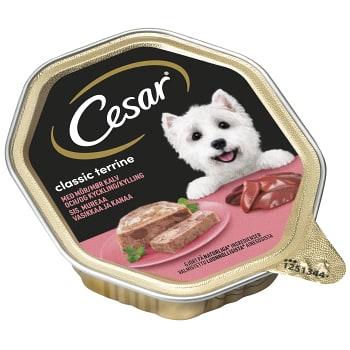Hundmat Classics med Kalv & kyckling 150g Cesar