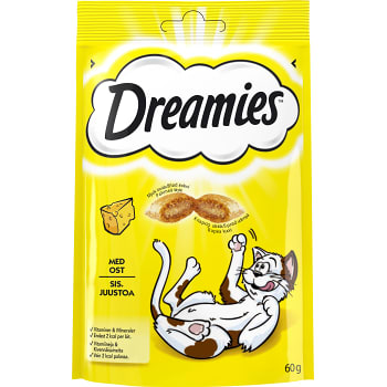 Ost Kattgodis 60g Dreamies