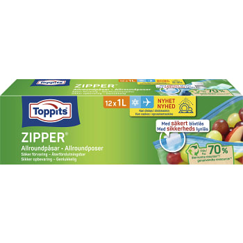 Zipper 1l 12st Toppits