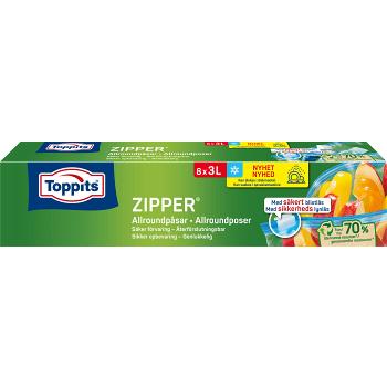 Zipper 3l 8st Toppits