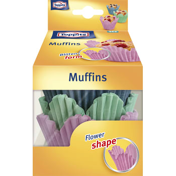 Muffinsform Blomformad 36-p Toppits