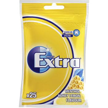 Tuggummi Honey lemon Sockerfri 35g Extra