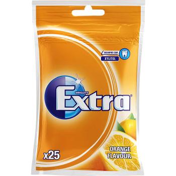 Tuggummi Orange 25-p Påse Extra