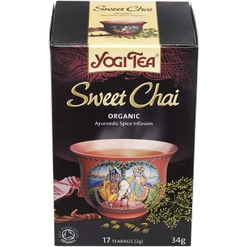 Sweet chai 17-p KRAV Yogi Tea