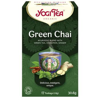 Green chai 17-p KRAV Yogi Tea