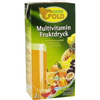 Fruktdryck Multivitamin 2l Glocken Gold