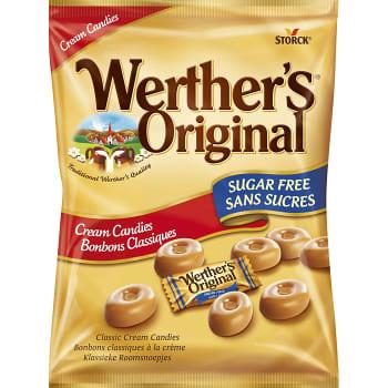 Gräddkarameller Sockerfri 70g Werthers original