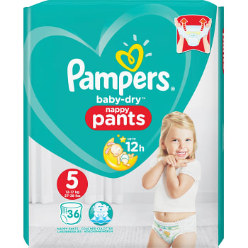 Byxblöjor 12-18kg 36-p Pampers baby-dry