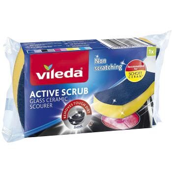 Glaskeramiksvamp Active scrub Vileda