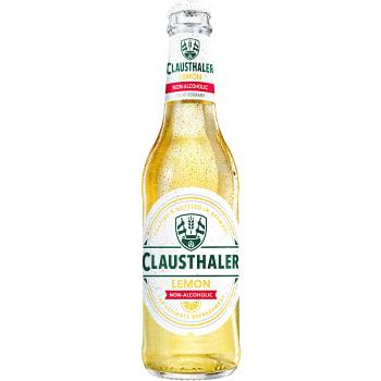 Öl Lemon Alkoholfri 33cl Clausthaler