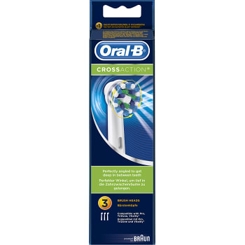 Tandborstrefill CrossAction 3-p Oral-B