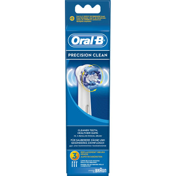 Tandborstrefill Precision Clean 3-p Oral-B