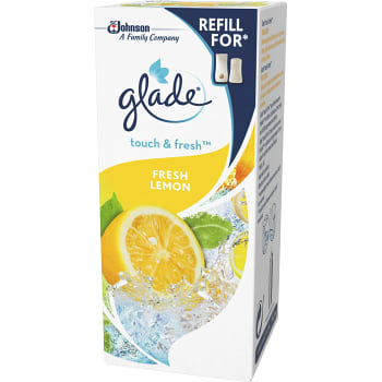Luftfräshare Touch & fresh Fresh lemon Refill 10ml Glade