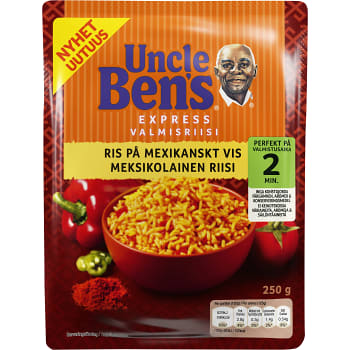 Snabbris Mexikansktris 250g Uncle Bens