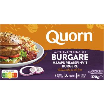 Vegetariska burgare Fryst 4x80g 320g Quorn