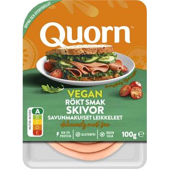Pålägg Skivor Rökt Smak Vegan Glutenfri 100g Quorn