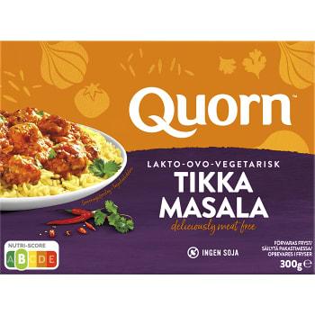 Färdigmat Tikka masala Vegetarisk Fryst 300 Quorn