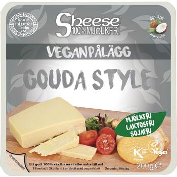 Ost Vegansk Gouda style Mjölkfri 200g Bute Island