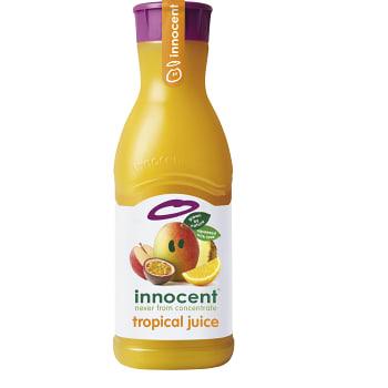 Juice Tropisk av flera frukter 900ml Innocent