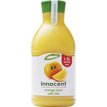 Juice Apelsin med fruktkött 1,5l Miljömärkt Innocent