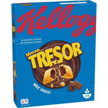 Tresor Milk choco 375g Kelloggs