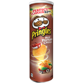 Chips Hot paprika chilli 200g Pringles